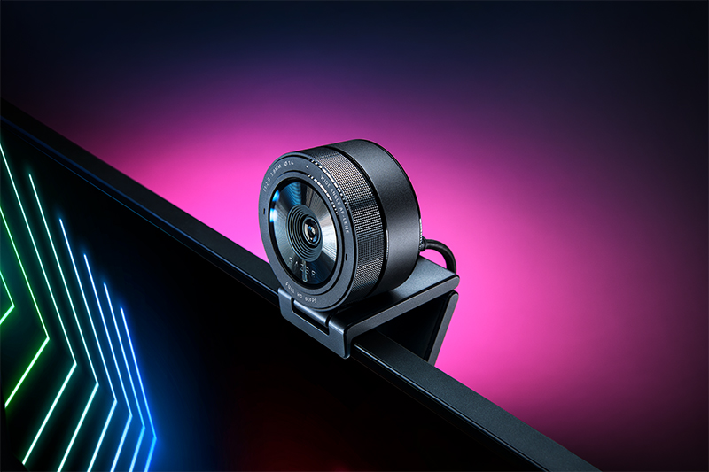 The new Razer Kiyo Pro webcam is ideal for business and gamers alike. (Image: Razer)