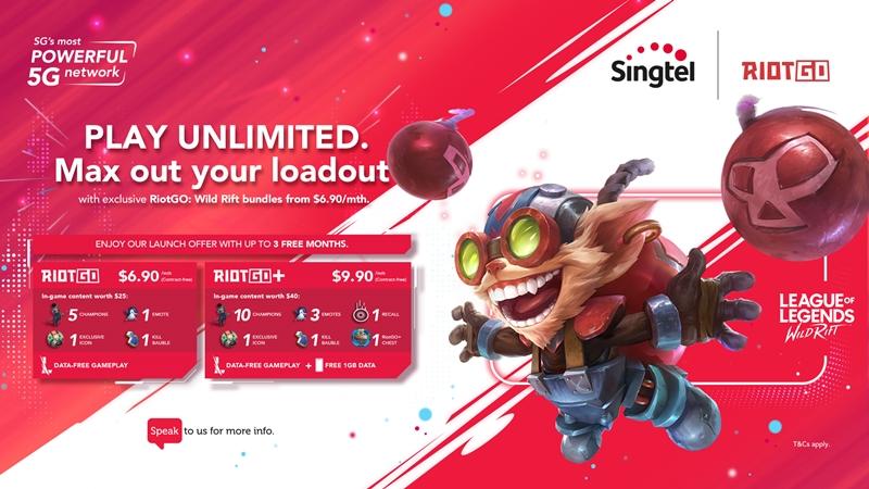 Image: Riot Games, SingTel