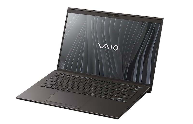 Front view of the new Vaio Z ultraportable and premium laptop.