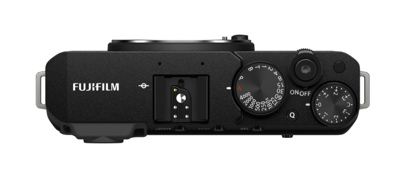 Like most other Fujifilm cameras, the X-E4 has dedicated dials. (Image source: Fujifilm)