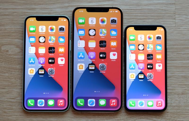 The Apple iPhone 12 models use Qualcomm's 5G radio modems.