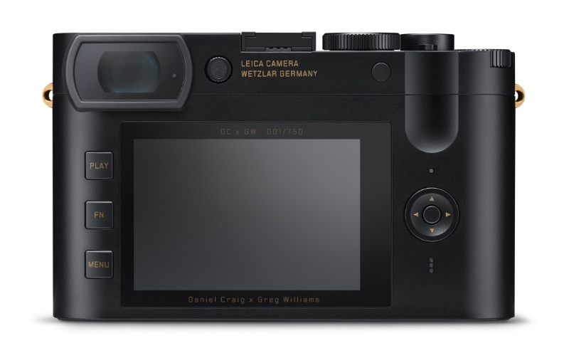 Note the engraved serial number above the display. (Image source: Leica)