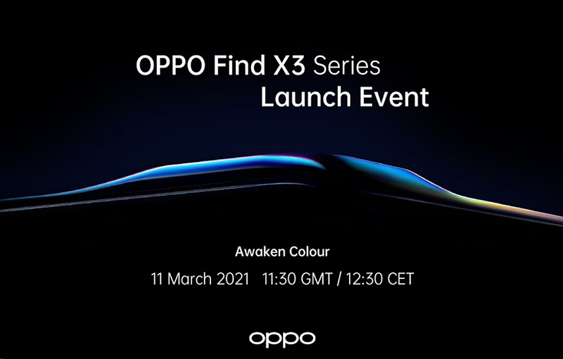 Screengrab of the Oppo Find X3 Pro launch placeholder on YouTube.