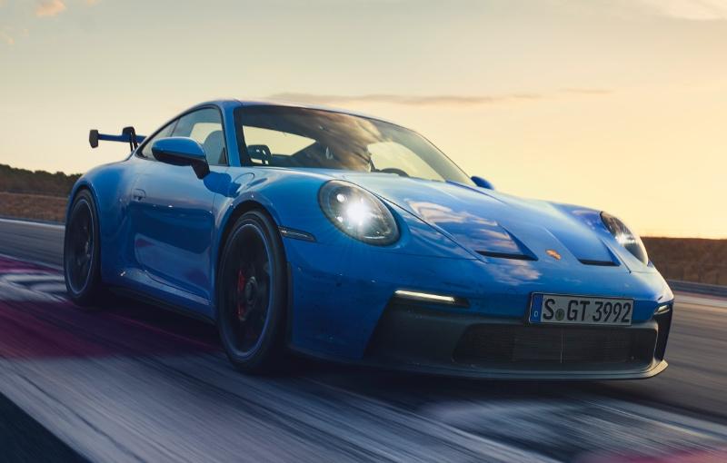The new Porsche 911 GT3 (Image source: Porsche)