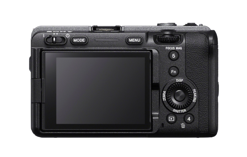 Note the lack of EVF. (Image source: Sony)