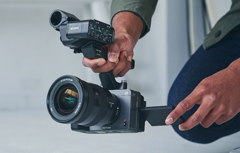 The new Sony FX3. (Image source: Sony)