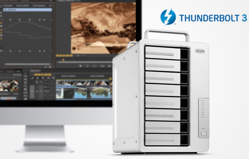 The company says the storage device is perfect for those in the creative fields. Image courtesy of TerraMaster.