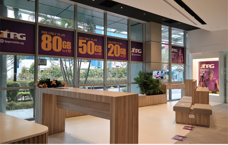 The inside of the new store. Image courtesy of TPG.