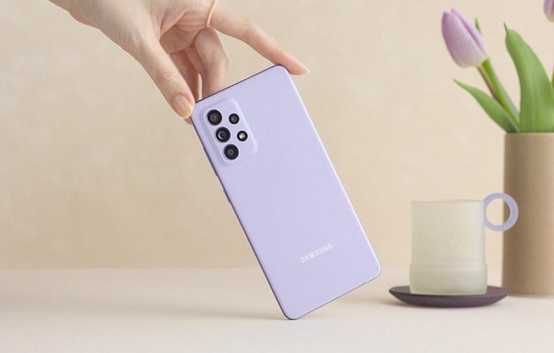 Samsung Galaxy A52 5G.