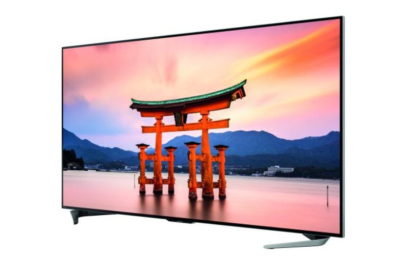 The 80-inch model. Image courtesy of sharp.
