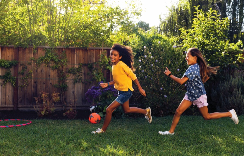 Kids can set and track their own activity goals. Image courtesy of Fitbit.