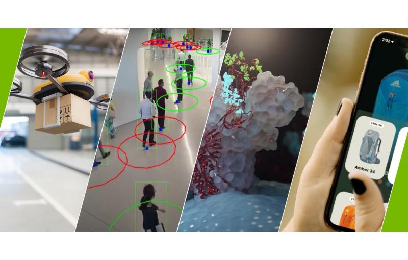 Some of the AI use cases. Image courtesy of NVIDIA.