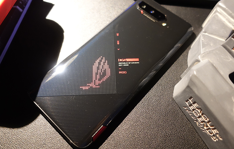 The ROG Phone 5's overall design has remained relatively unchanged since the original ROG Phone debuted four years ago.