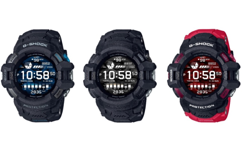 The watch will have the usual host of smartwatch features. Image courtesy of Casio.