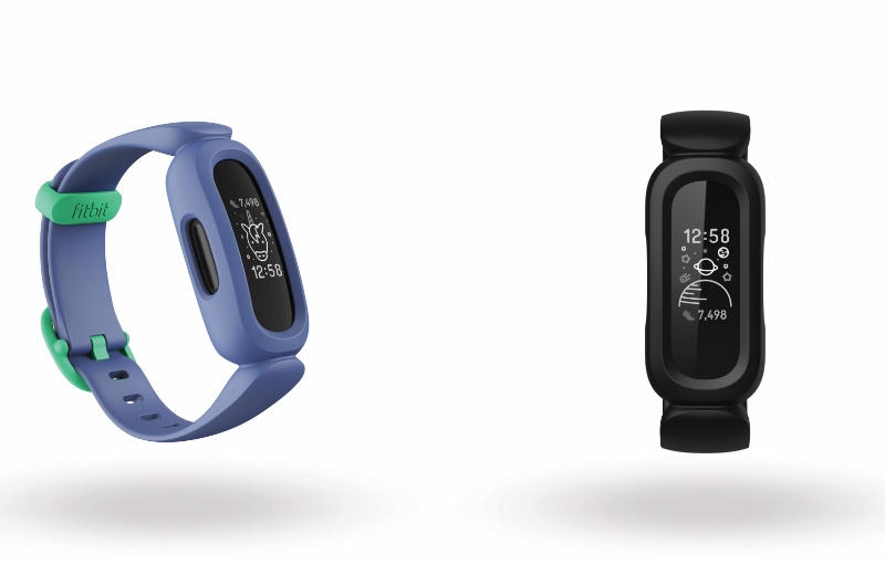 The two colour options available. Image courtesy of Fitbit.