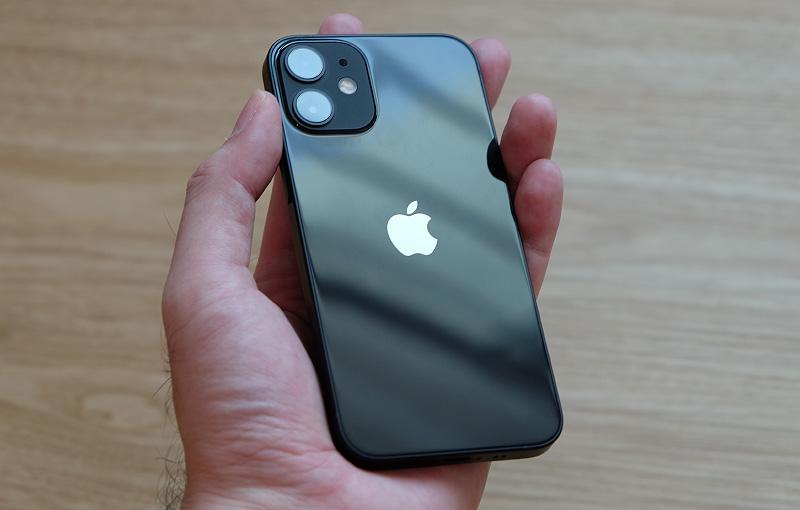 The Apple iPhone 12 mini.