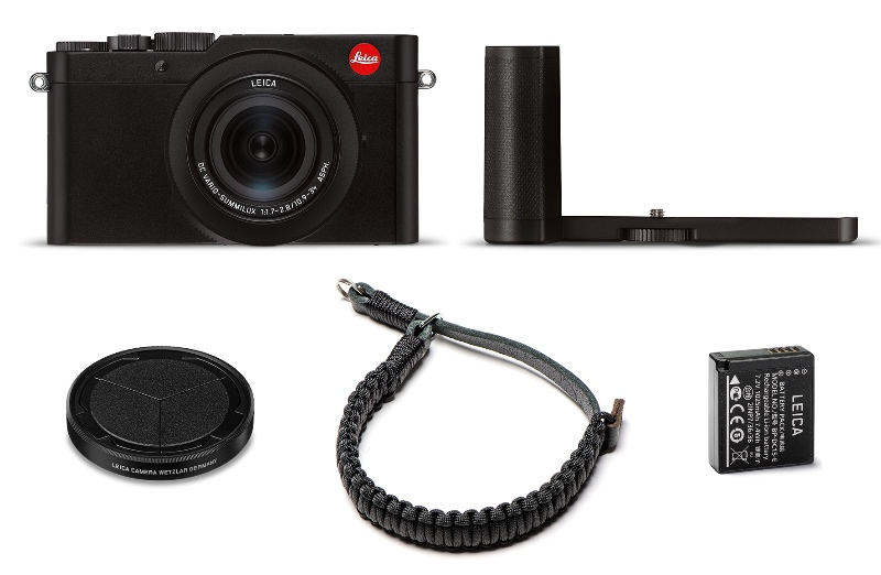 The accessories that make up the Street Kit. (Image source: Leica)