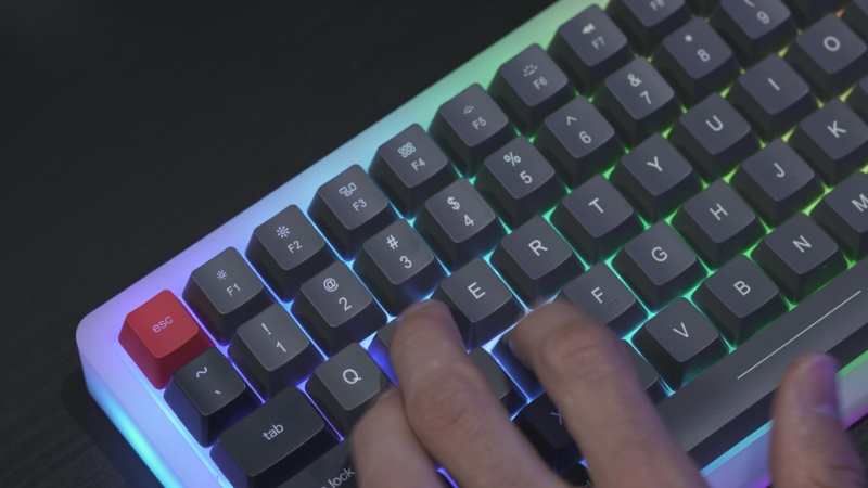 The keycaps feel like quality items. (Image source: Marsback)