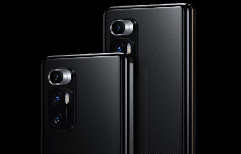 The Xiaomi Mi Mix Fold has a triple-camera setup. <br>Image source: Xiaomi