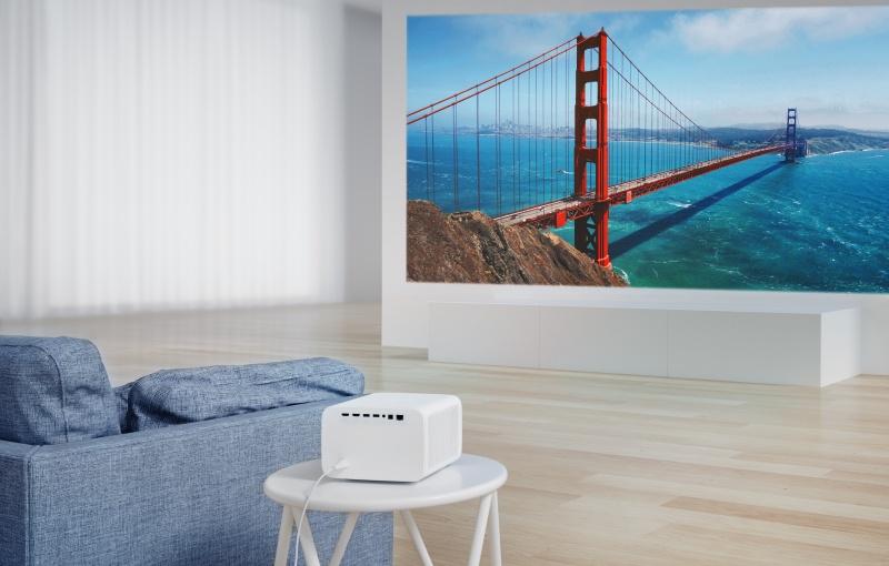 The Mi Smart Projector 2 Pro.