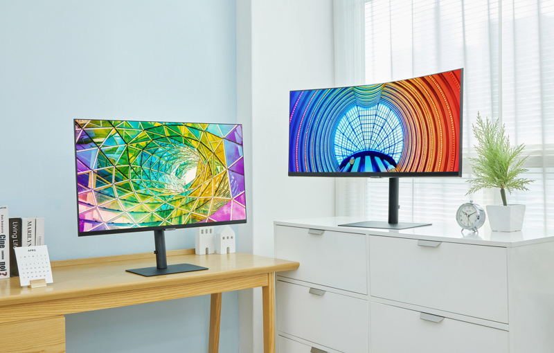 Going big for office use. Image courtesy of Samsung.