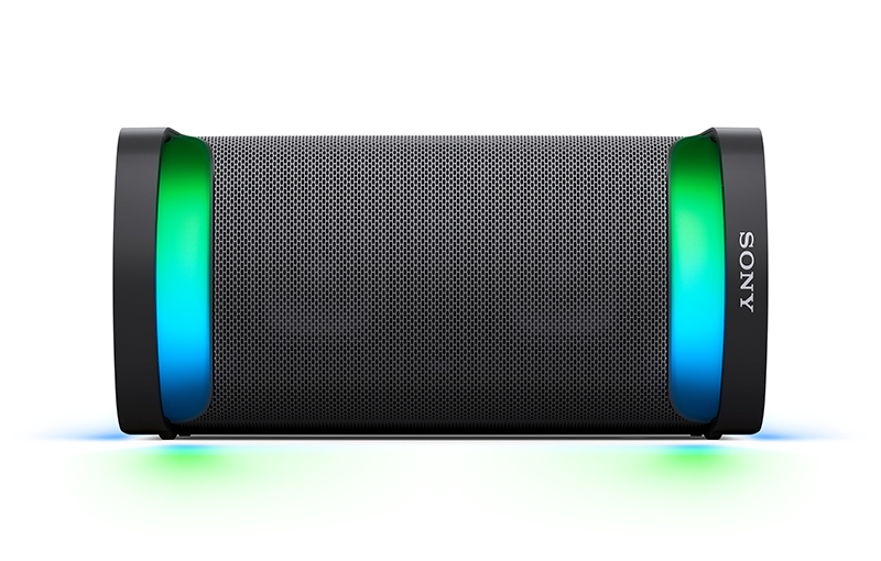 Sony SRS-XP500, placed horizontally.