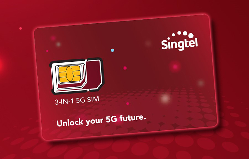 Singtel expedites its 5G SA deployment by offering 5G SA-compatible SIM cards to eligible users.