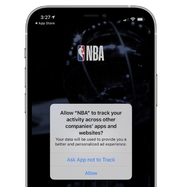 Here's an example of what the prompt will look like. (Image source: MacRumors)