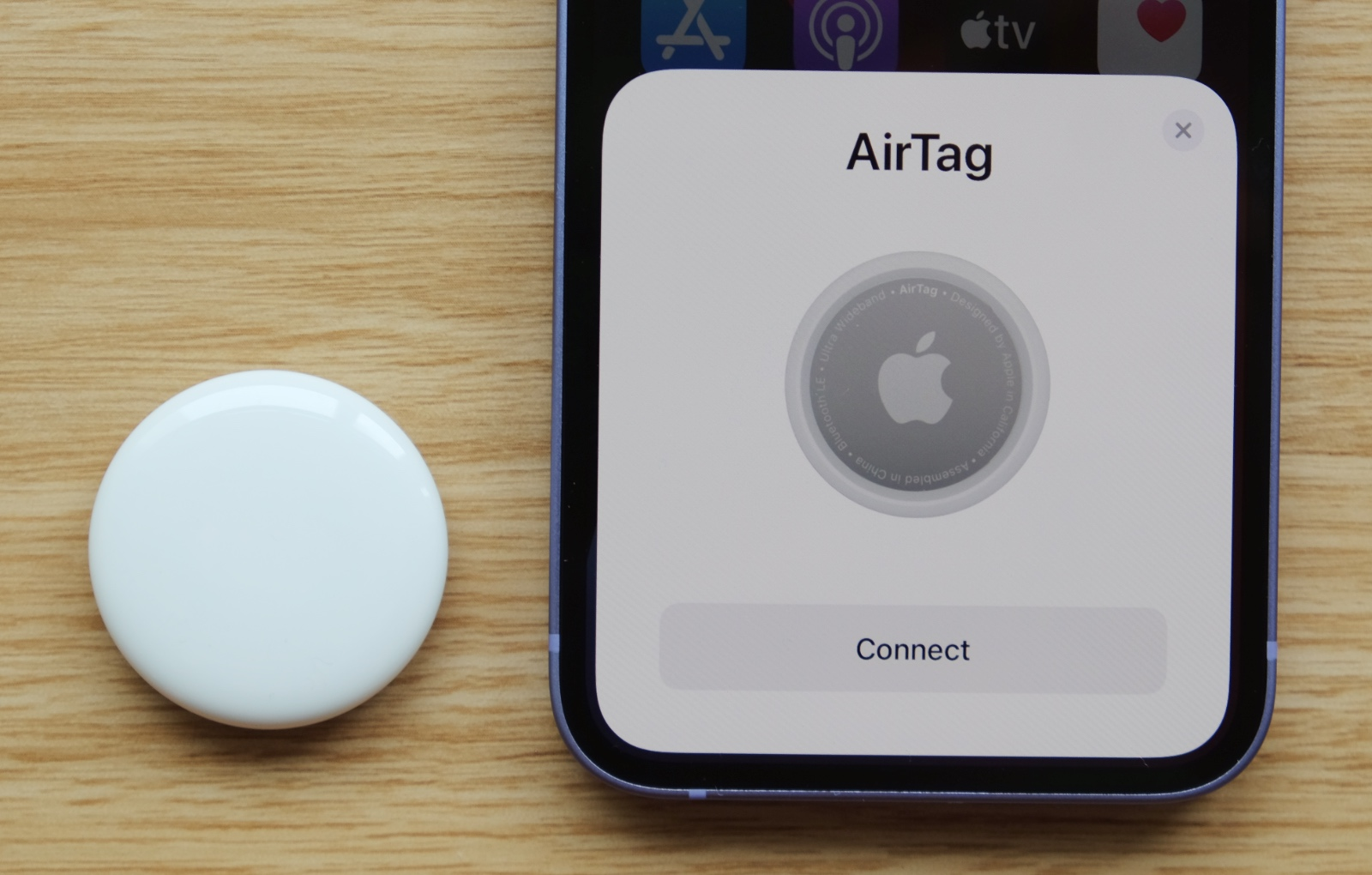 Apple's AirTags are finally here.