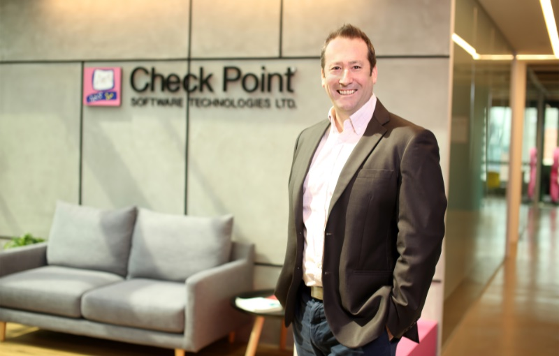 Evan Dumas, Regional Director, Southeast Asia, at Check Point Software Technologies. Image courtesy of Check Point.