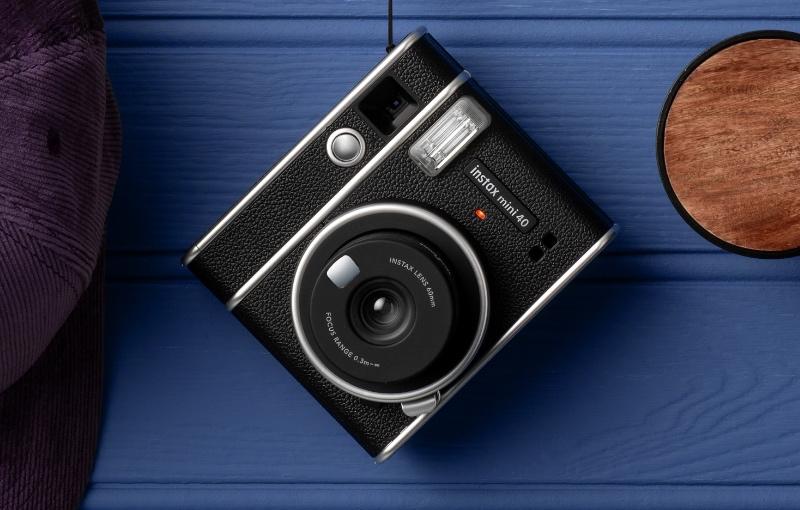 The Fujifilm Instax Mini 40. (Image source: Fujifilm)