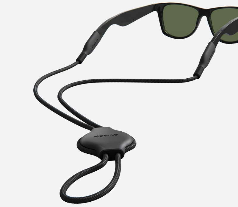 The Nomad Glasses Strap for AirTag. <br>Image source: Nomad