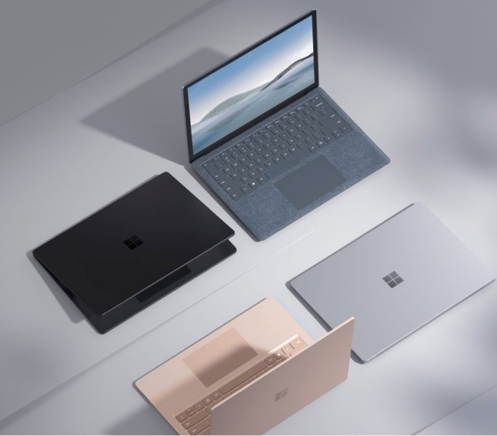 The Surface Laptop 4 comes in four colour options. <br>Image source: Microsoft