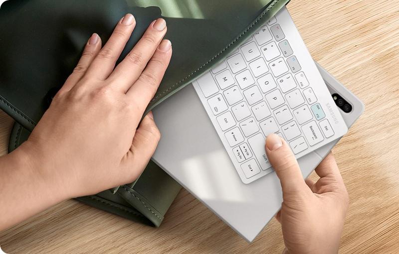 The Samsung Smart Keyboard Trio 500. <br>Image source: Samsung