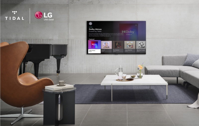 Enjoy even better audio with Dolby Atmos. Image courtesy of LG.
