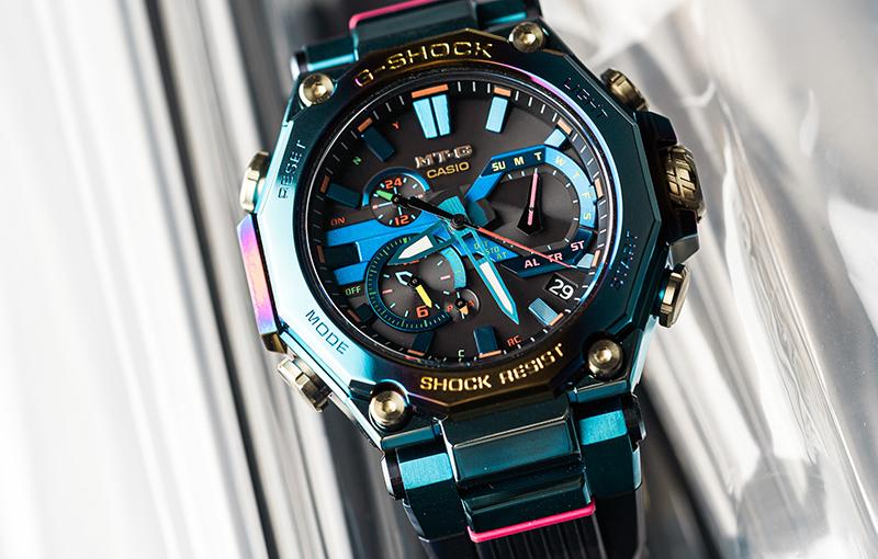 Casio G-SHOCK MT-G Blue Phoenix (MTG-B2000PH).