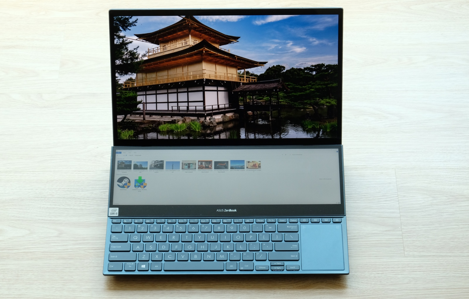 The ZenBook Pro Duo 15 OLED UX582 is ASUS' second-generation 15-inch dual display notebook.