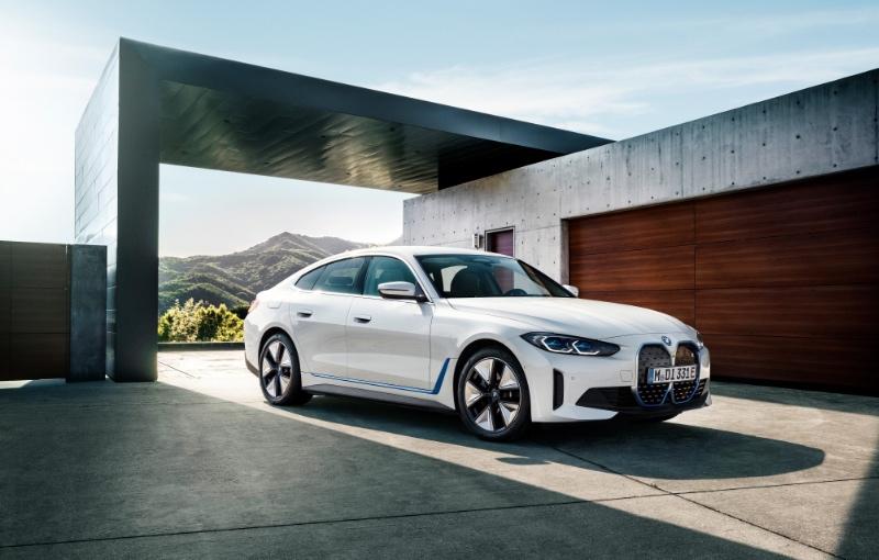 The new BMW i4 (Image source: BMW)