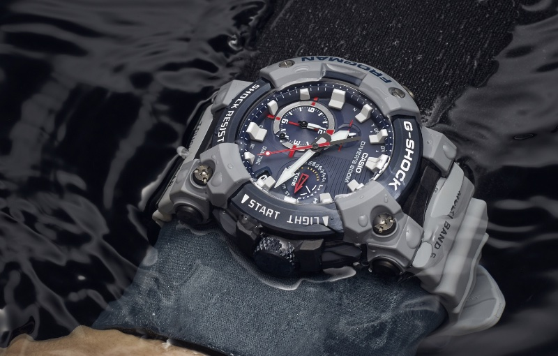 The watch is the latest collaboration with the British Navy. Image courtesy of Casio.