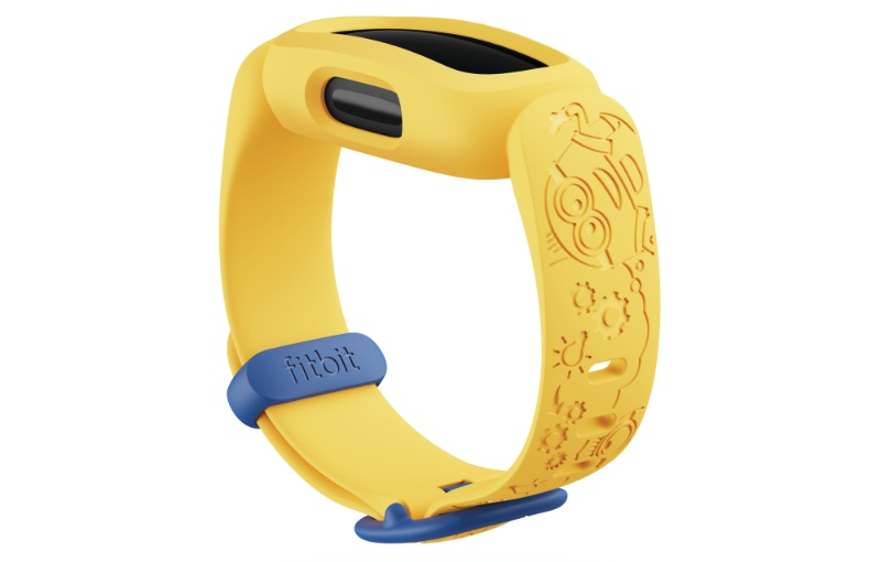 The Minions yellow is restricted to the Special Edition. Image courtesy of Fitbit.