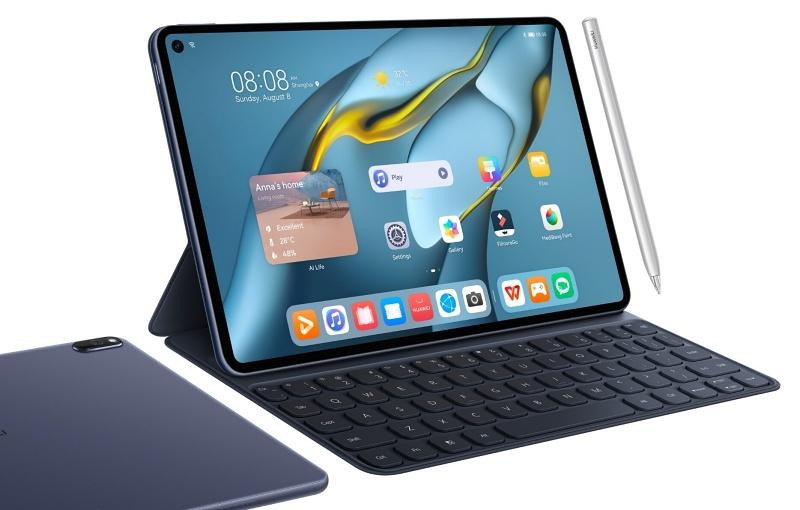 The Huawei MatePad Pro 10.8. <br>Image source: Huawei
