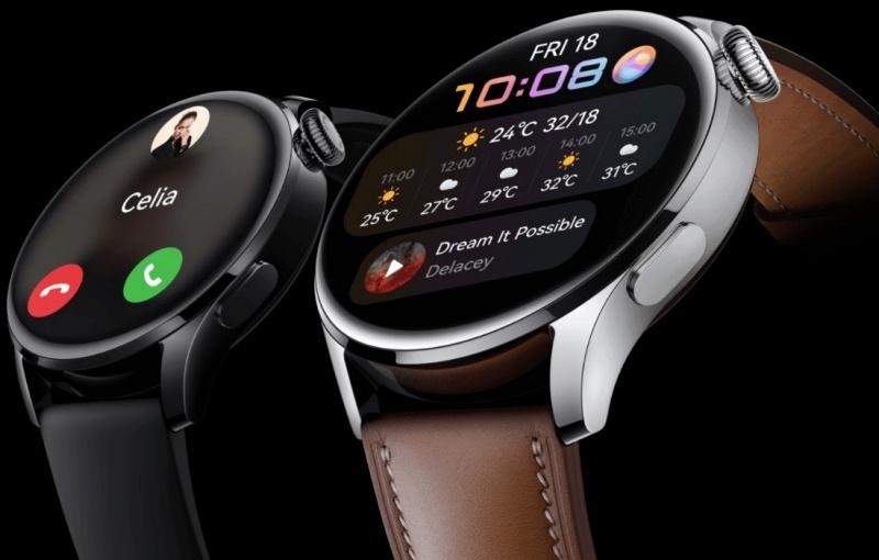 The Huawei Watch 3. <br>Image source: Huawei