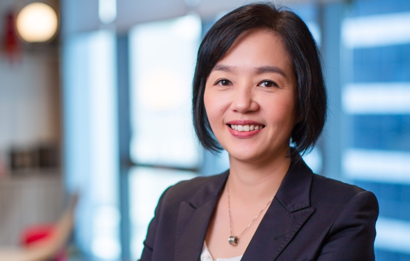 Joanna Lim, Modern Work and Security Business Group Lead, Microsoft Singapore. Image courtesy of Microsoft.