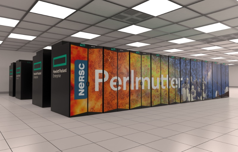 The new supercomputer is said to be the world's fastest. Image courtesy of NVIDIA.