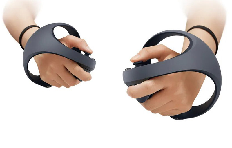 Sony's next-gen VR controllers. <br>Image source: Sony