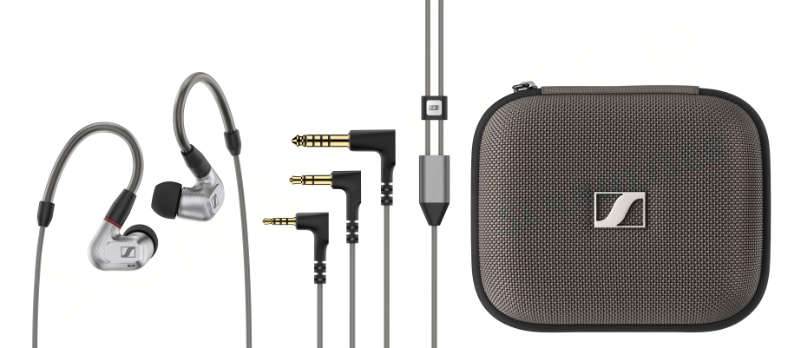 The Sennheiser IE 900 comes with three cables that terminates in 3.5mm, 2.5mm, and 4.4mm. (Image source: Sennheiser)