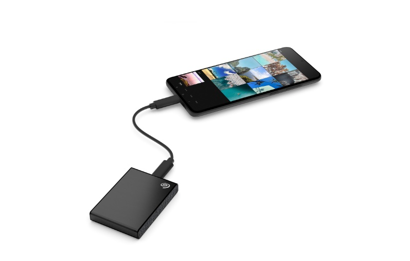 It can backup Android-based devices too. Image courtesy of Seagate.
