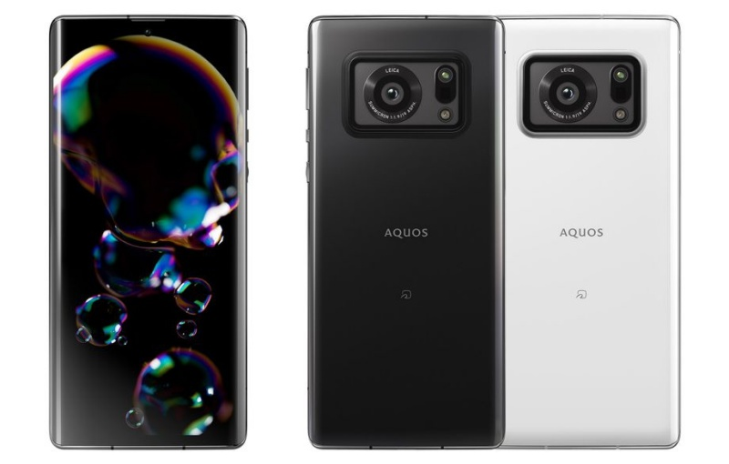 The Sharp Aquos R6. <br>Image source: The Verge