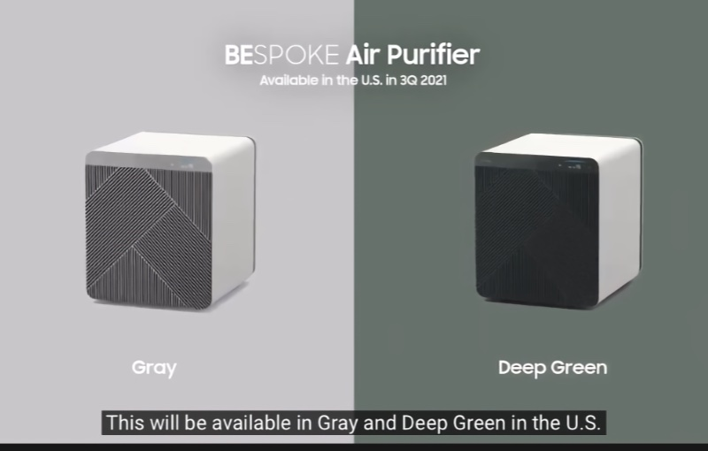 Breathe easy with the Bespoke Air Purifier.