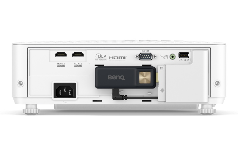 There are a number of connectivity options. Image courtesy of BenQ.